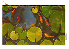 Little Fish Koi Goldfish Pond Carry-all Pouch