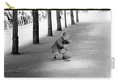 Little Girl With Ball Paris Carry-all Pouch