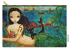 Little Mermaid Carry-all Pouch by Shijun Munns