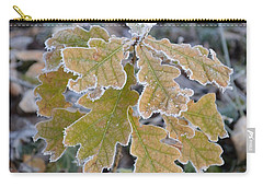 Carry-all Pouch featuring the photograph Little Oak by Felicia Tica