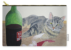 Little Ol' Wine Drinker Me Carry-all Pouch by Norm Starks
