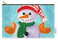 Little Snowman Carry-all Pouch