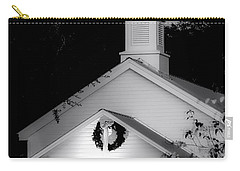 Little White Church Bw Carry-all Pouch