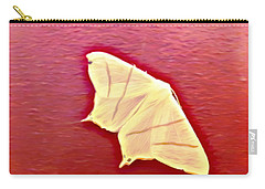 Little White Moth Carry-all Pouch