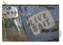 Live Bait And The Man Carry-all Pouch