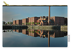 Liverpool Canning Docks Carry-all Pouch by Jonah  Anderson