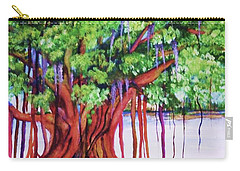 Living Banyan Tree Carry-all Pouch