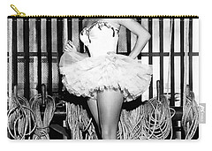Liz Taylor Elizabeth Taylor 2 Carry-all Pouch by Studio Photograph
