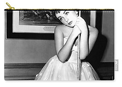 Liz Taylor Elizabeth Taylor Carry-all Pouch by Studio Photograph
