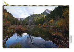 Carry-all Pouch featuring the photograph Lizard Lake by Jim Garrison