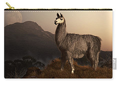 Llama Dawn Carry-all Pouch by Daniel Eskridge