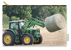 Loading Hay Carry-all Pouch by J McCombie