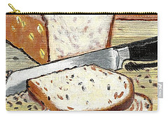 Loaf Of Bread Carry-all Pouch by Francine Heykoop