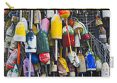 Lobster Buoys - Maine Carry-all Pouch