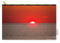 Lobster Pots Dance In The Sea  At Sunrise Carry-all Pouch