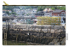 Carry-all Pouch featuring the photograph New England Lobster by Eunice Miller
