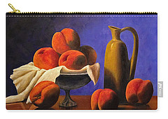 Local Peaches Oil Painting Carry-all Pouch