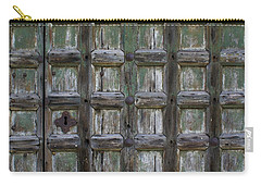 Carry-all Pouch featuring the digital art Locked Door by Ron Harpham