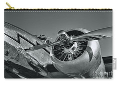 Lockheed 12a Electra Junior  Carry-all Pouch by Olga Hamilton