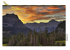 Logan Pass Sunrise Carry-all Pouch