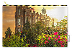 Logan Temple Garden Carry-all Pouch