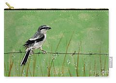 Loggerhead Shrike Carry-all Pouch by Stefanie Forck