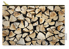 Logs Background Carry-all Pouch