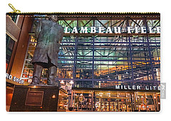 Lombardi At Lambeau Carry-all Pouch by Bill Pevlor