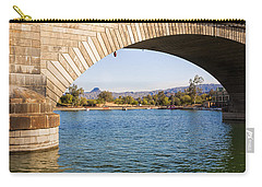 London Bridge At Lake Havasu City Carry-all Pouch