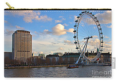 London Eye And Shell Building Carry-all Pouch