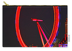 London Eye Red Carry-all Pouch by Jasna Buncic