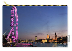 London Eye Carry-all Pouch by Rod McLean