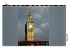 Carry-all Pouch featuring the photograph London Icons by Ann Horn