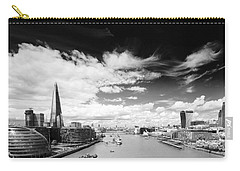 Carry-all Pouch featuring the photograph London Panorama by Chevy Fleet