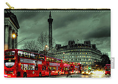 London Red Buses And Routemaster Carry-all Pouch