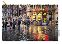 Carry-all Pouch featuring the photograph Reflections Of London by Glenn DiPaola