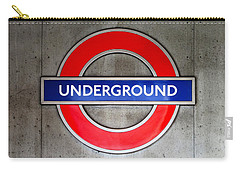 London Underground Sign Carry-all Pouch
