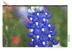 Lone Bluebonnet Carry-all Pouch