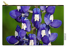 Carry-all Pouch featuring the photograph Lone Bluebonnet by Dee Dee  Whittle