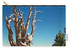 Carry-all Pouch featuring the photograph Lone Bristlecone by Alan Socolik