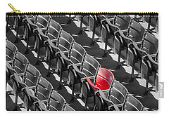 Lone Red Number 21 Fenway Park Bw Carry-all Pouch