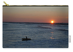 Lone Surfer Carry-all Pouch