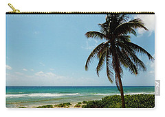 Carry-all Pouch featuring the photograph Lone Tree by Amar Sheow