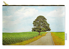 Carry-all Pouch featuring the photograph Lone Tree by Brooke T Ryan