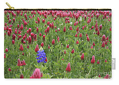 Lonely Bluebonnet Carry-all Pouch