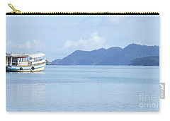Carry-all Pouch featuring the photograph Lonely Boat by Andrea Anderegg