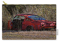 Carry-all Pouch featuring the photograph Lonely Fastback by Victor Montgomery