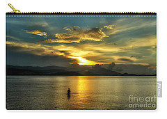 Lonely Fisherman Carry-all Pouch