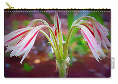 Carry-all Pouch featuring the photograph Lonely Lilly by Debra Forand