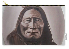 Long Bear Carry-all Pouch by Michael  TMAD Finney